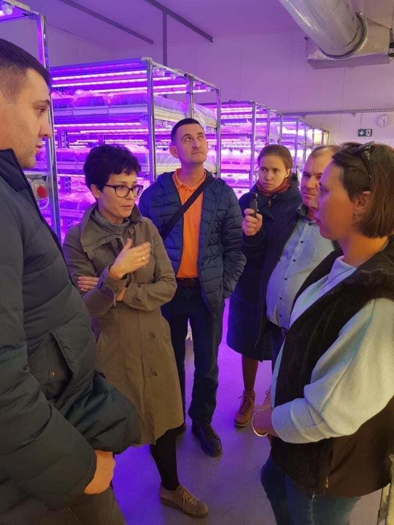 Goście z Rosji zwiedzili również nasze laboratorium